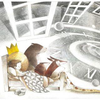 Mae Besom - Children's book illustrator. China