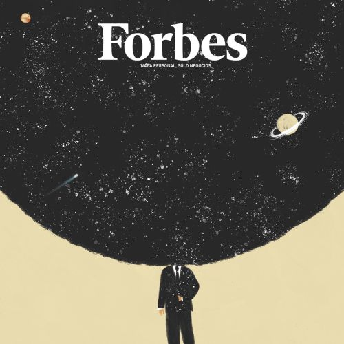 cover for Forbes issue on talent and leadership