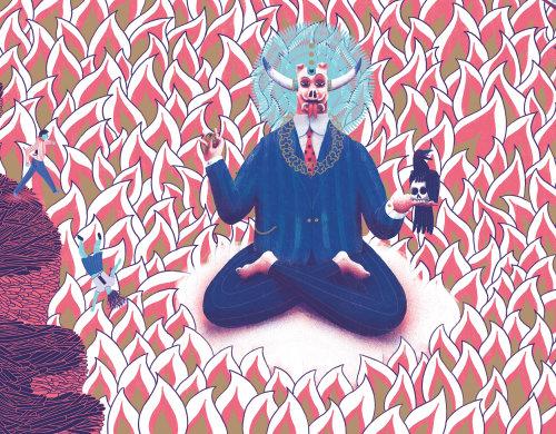 Graphic Tara Books God of money