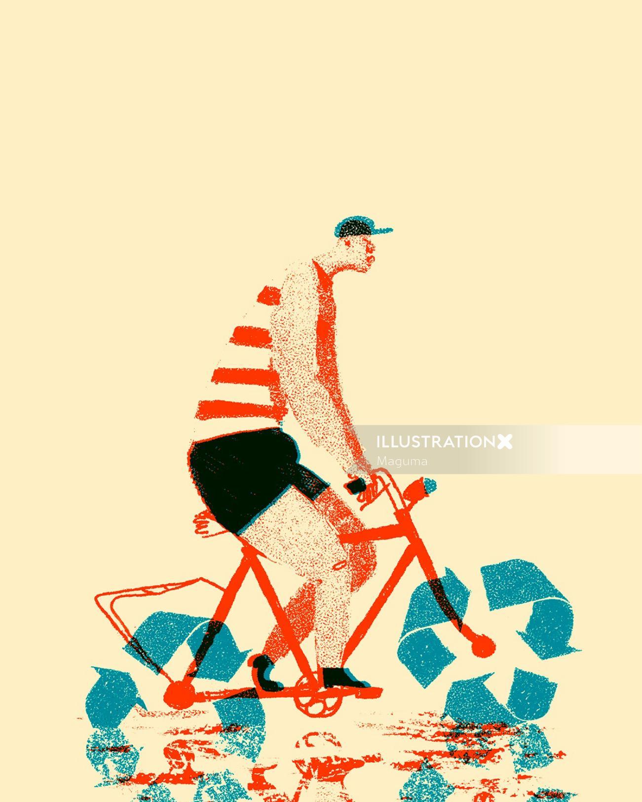 cycling through an ocean of alternatives