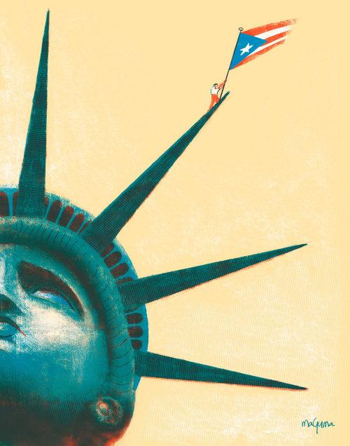 tensões políticas e culturais entre Porto Rico e os Estados Unidos