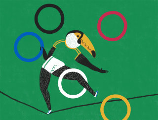 management of the Olympic games in Brazil