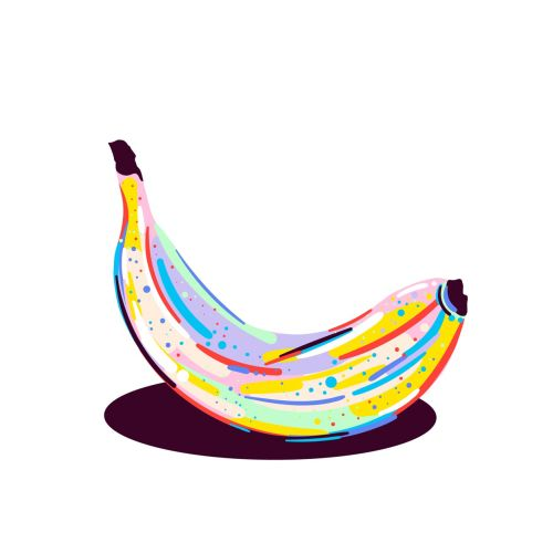Banana illustration by Mallory Heyer