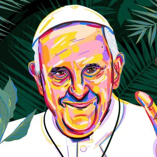 Pope Francis Editorial for the new repulic