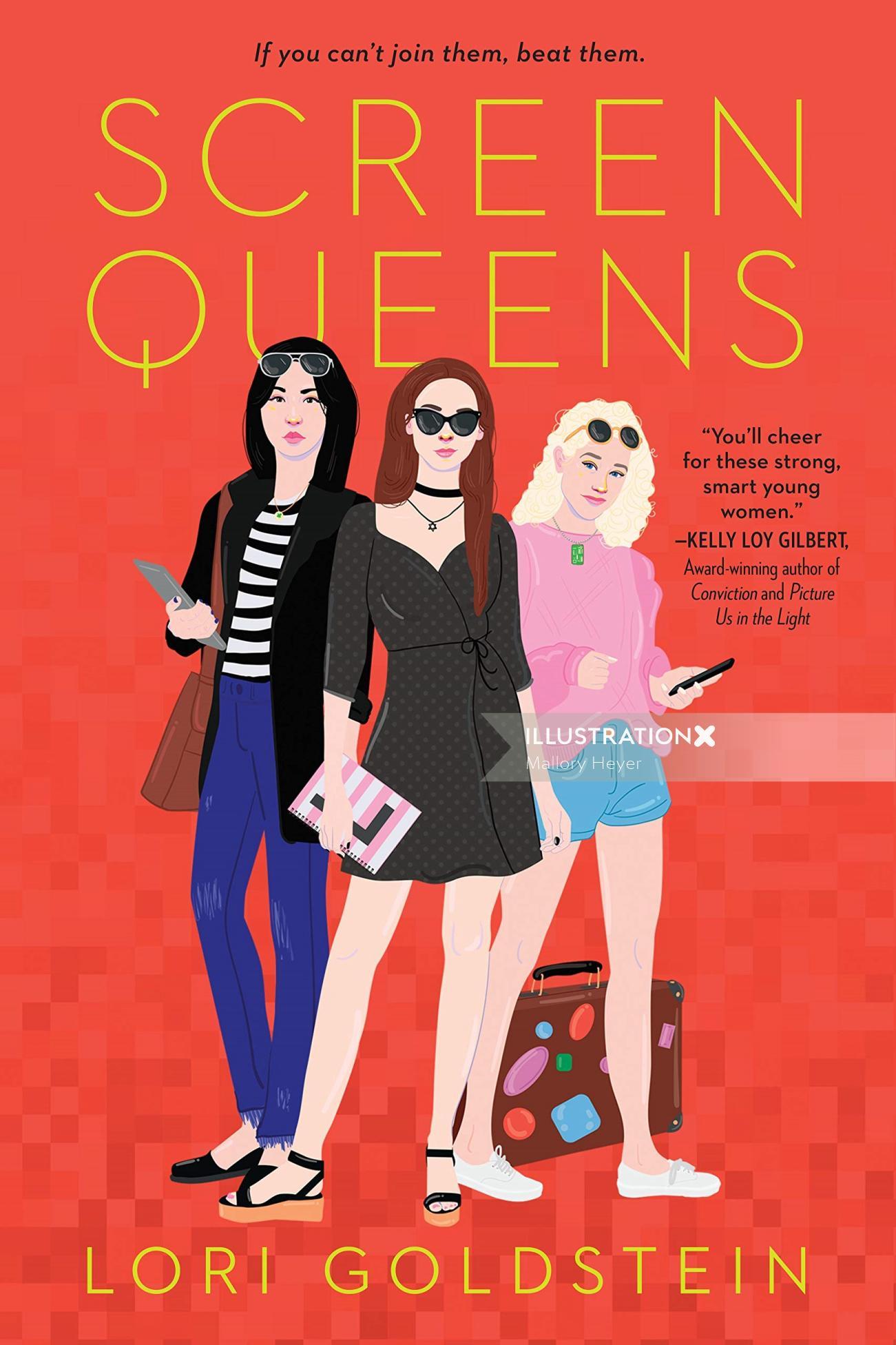 Editorial screen queens cover