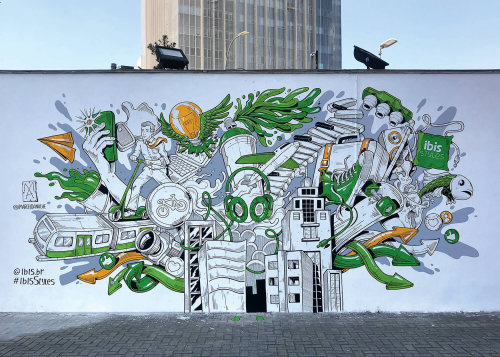 Decorative Faria Lima Hotel wallposter