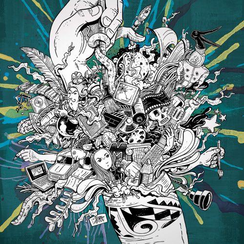 Marcelo Anache Contemporary Illustrator from Brazil