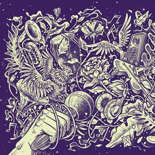 Music fantasy magical poster art