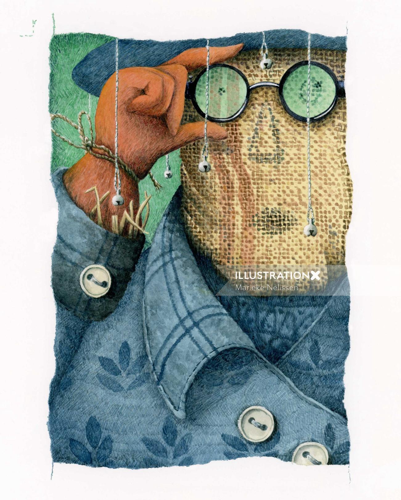 Cartoon character design by Marieke Nelissen