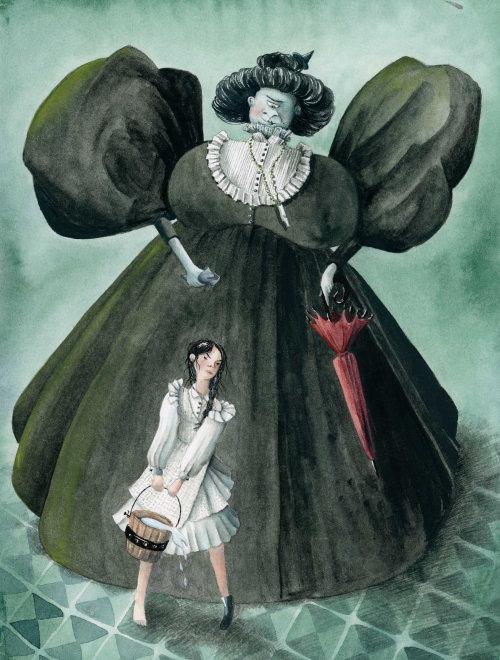A bruxa do Oriente para o mágico de Oz