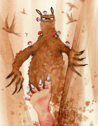 Cartoon illustration for children book by Marieke Nelissen