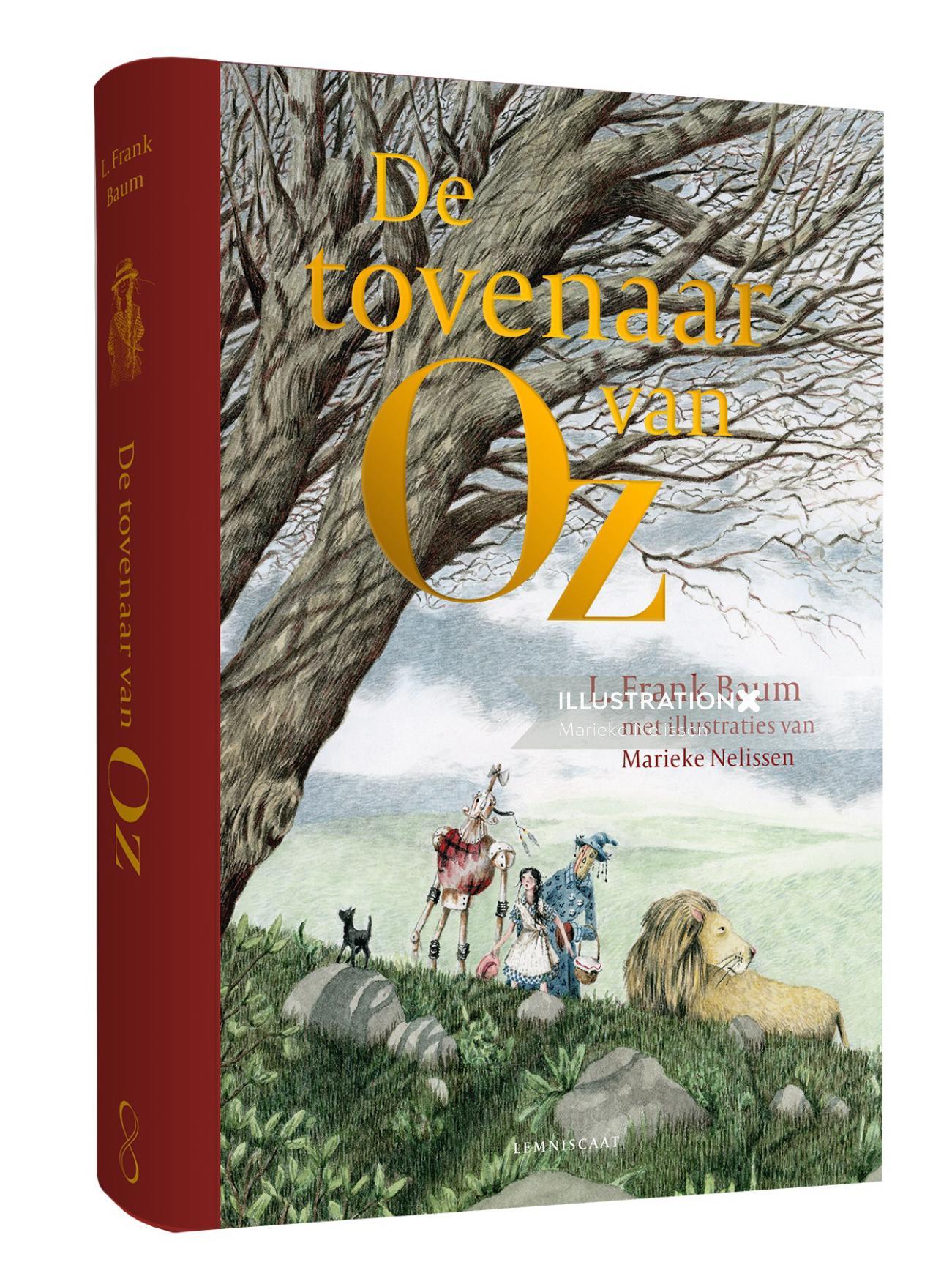 de tovenaar van oz book cover