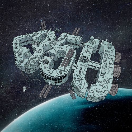 Space Station graphic design
