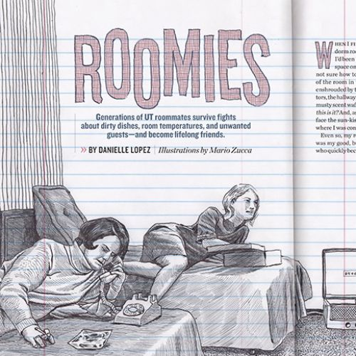 Alcalde Roomies Feature Illustration
