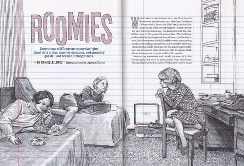 Alcalde Roomies Feature Illustration