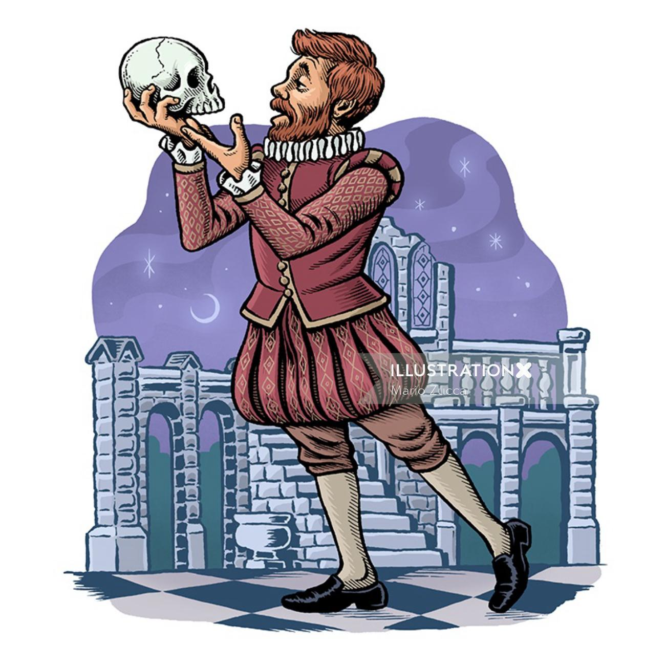 Book cover design by US based illustrator