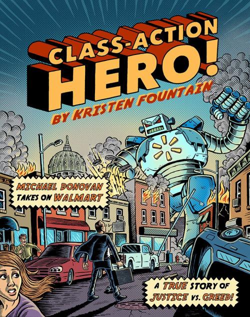 Ilustração de personagem do herói de ação de classe