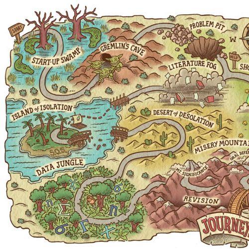 Map illustration of game