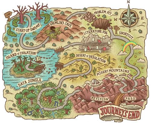 Ilustração do mapa do jogo