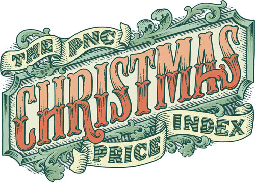 PNC Christmas Price digital lettering