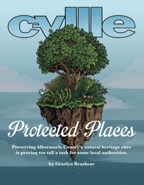 Graphic design of c-vell protected place