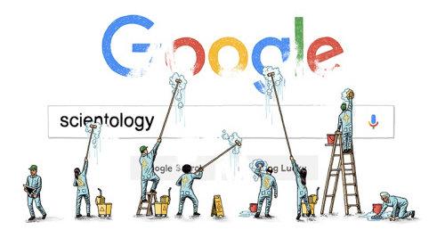 Ilustração da pesquisa do google