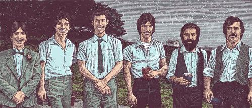 Retrato de irmãos sorridente
