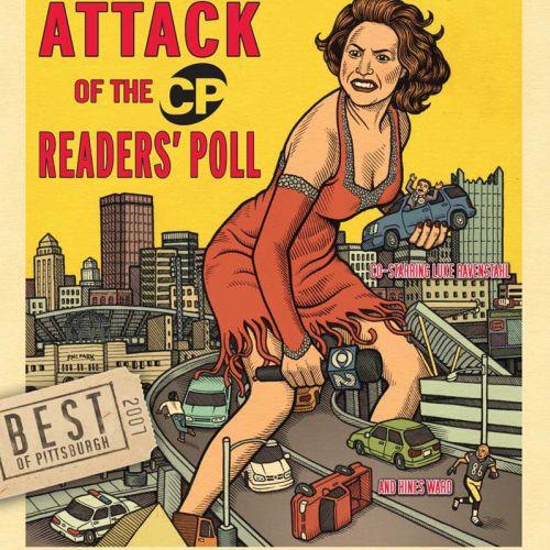 City Paper cover art