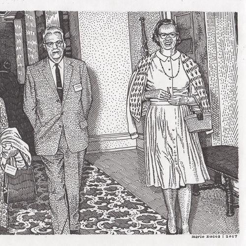 Black & White portrait of family photo