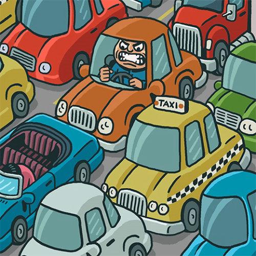 Animação de Traffic Rage