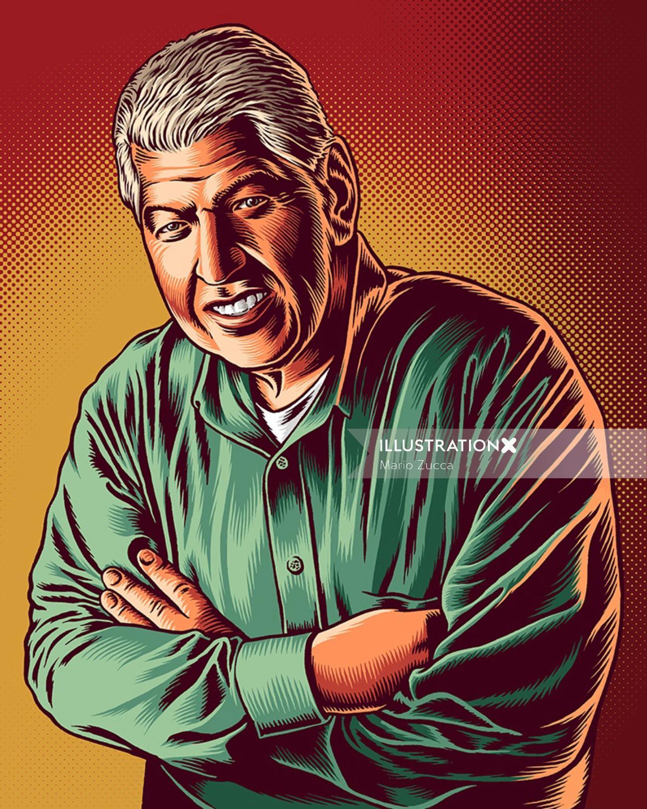 Portrait of Jim Estepa