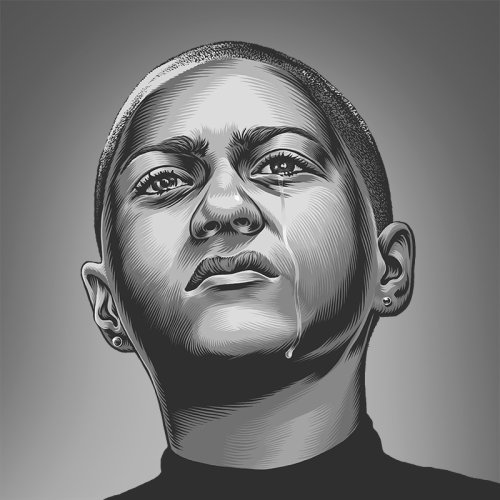 Emma Gonzalez portrait illustration