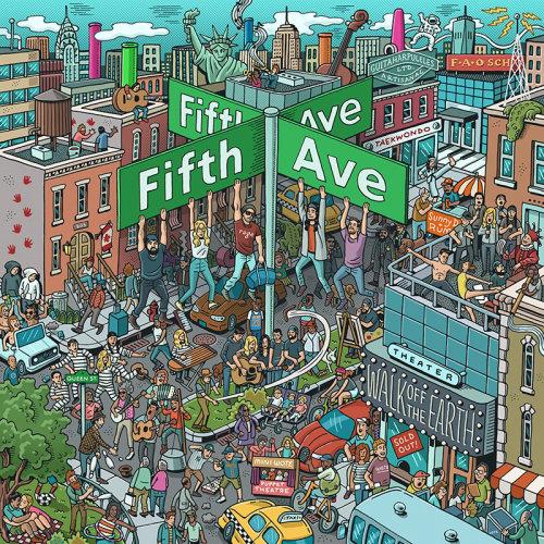 Ilustração de arte do álbum Fifth Ave