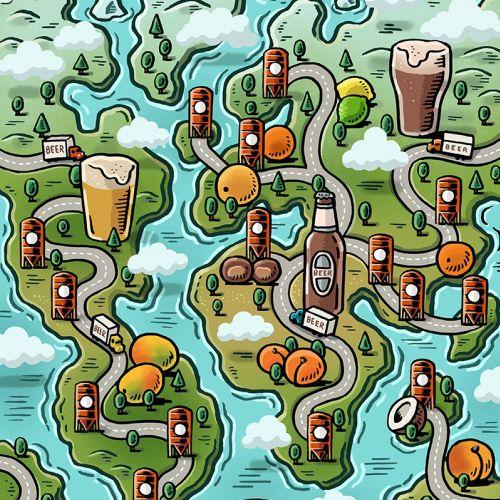 Mario Zucca Mapas