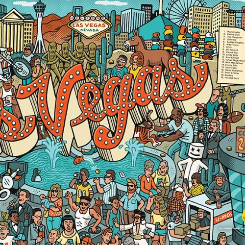 Mario Zucca Places & Locations Illustrator from USA