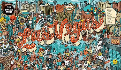 Las Vegas typography