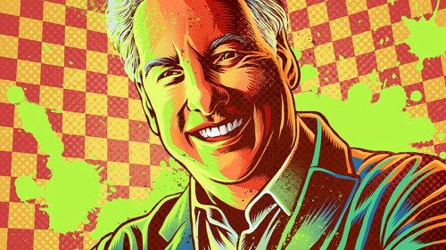 Ilustração do retrato dos verões de Marc