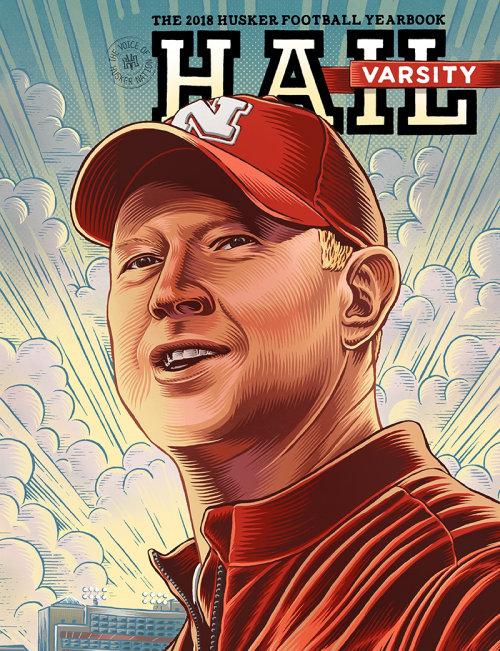 Ilustração do retrato de Scott Frost