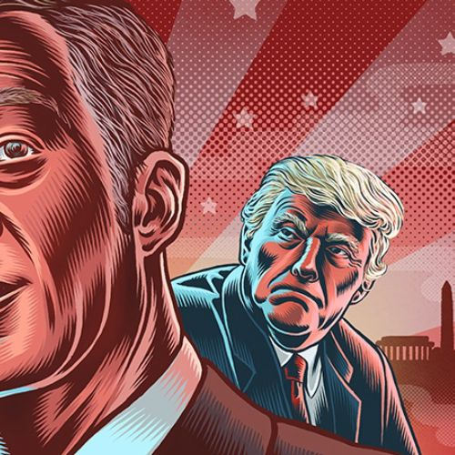 Tom Steyer Portrait illustration