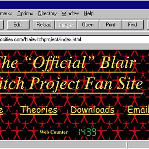 Animation of Netscape Website