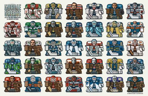 Sticker of Hockey Goalkeepers