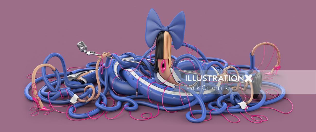 3d music design