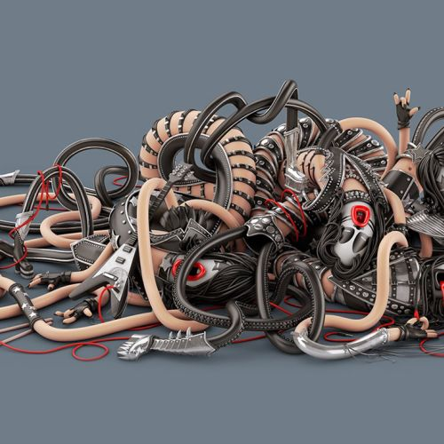 3d electronic wires