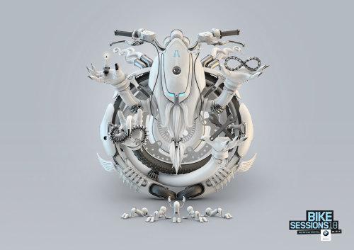 3d mechanical bike