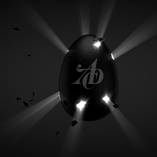Animation of 3d egg