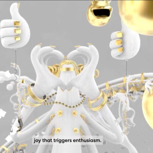 3d animation of creative intelligence