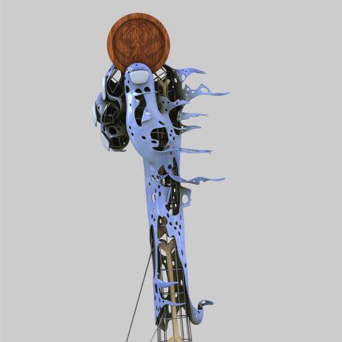 3d character skeleton design