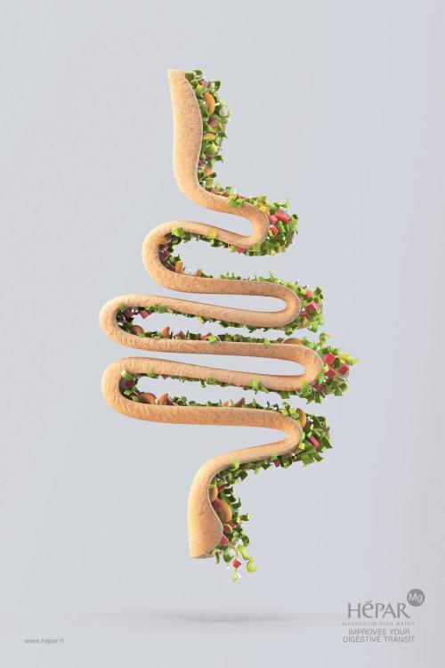 3d hepar digestive food