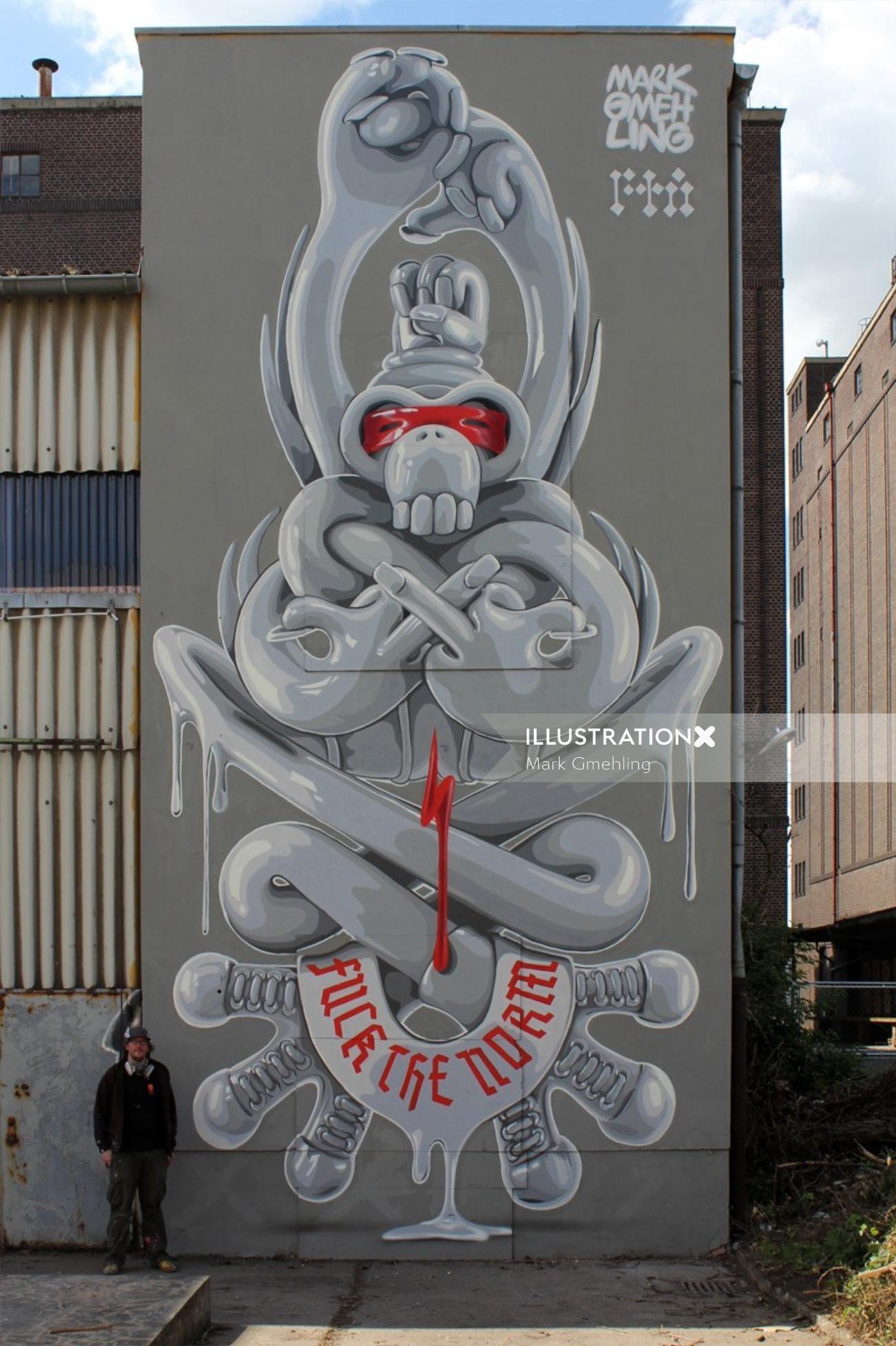 Hire Graffiti Amp Mural Artists In Nyc La Sf Ca Mural