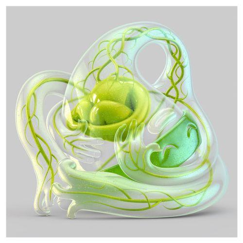 3d green medical design